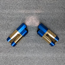 Synergy1 Flashlight - Blue-Bronze