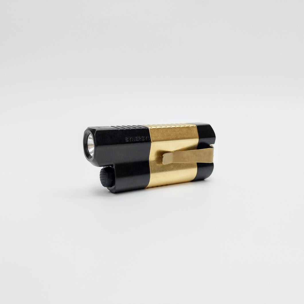 Synergy1 Flashlight BFG (Black Anodized Brass Center)