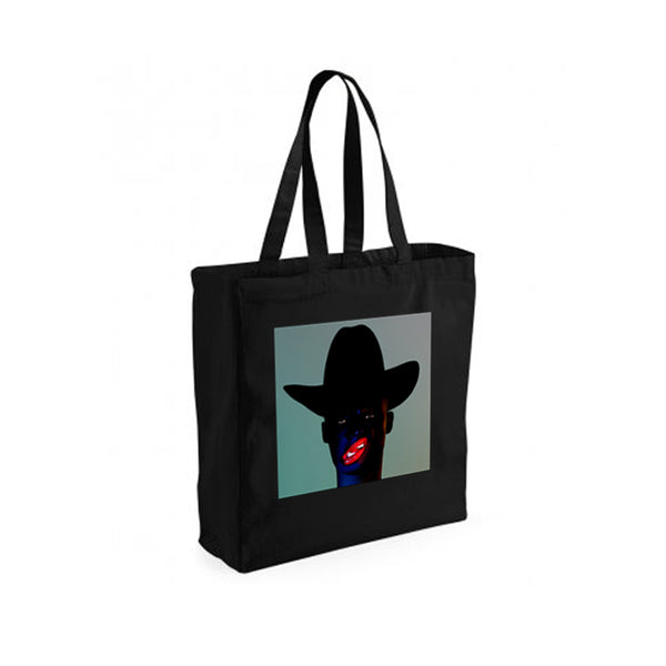 COCOA SUGAR ALBUM BLACK TOTE BAG