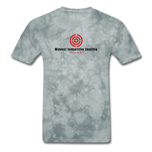 MCS Men's T-Shirt - Color Logo - grey tie dye