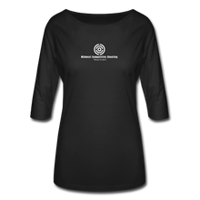Women's 3/4 Sleeve Shirt - black