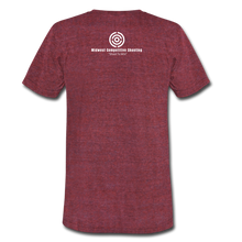 MCS B4B Tri-Blend T-Shirt - heather cranberry