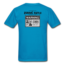 2020 Zombie Match Competitor Shirt - turquoise