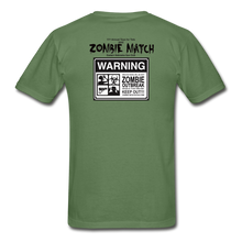 2020 Zombie Match Competitor Shirt - military green