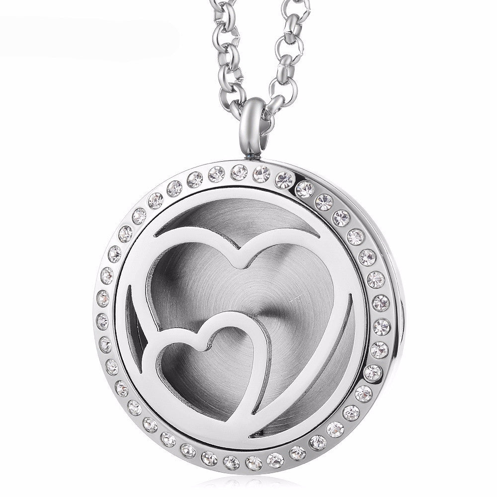 30mm essential oil love locket necklace bhajanti next aloadofball Images