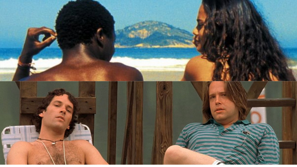 City of God and Wet, Hot, American Summer Movie Shots