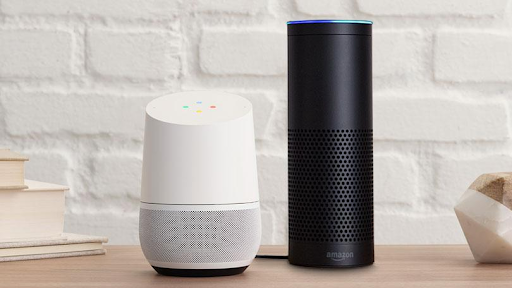 Google Home and Alexa Echo