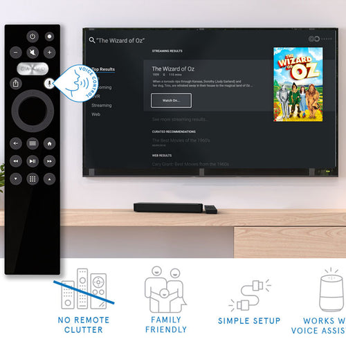 Control Center + Universal TV Remote – Caavo