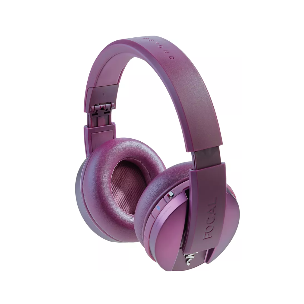 Listen Wireless Focal audífonos -Morado