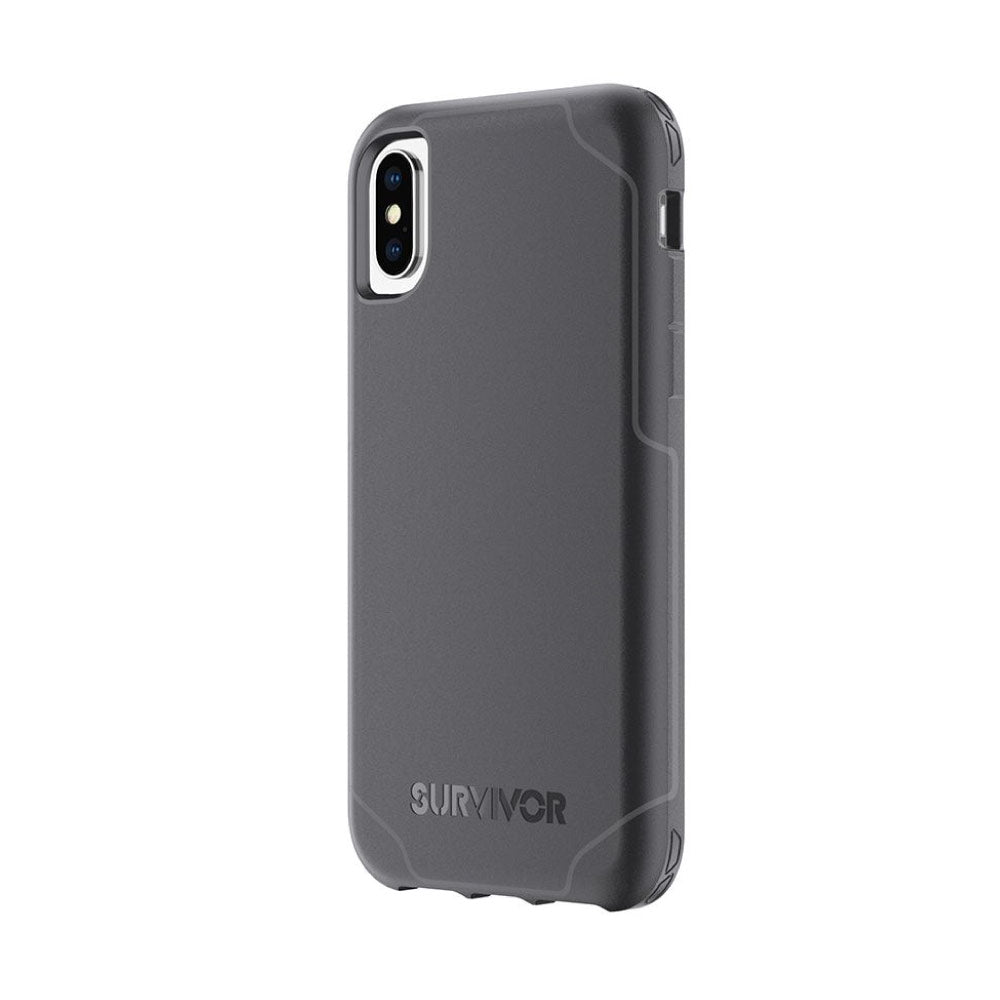 Funda iPhone X Strong -Negro/Gris