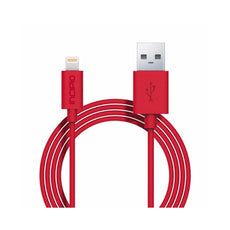 Cable Lightning -Rojo