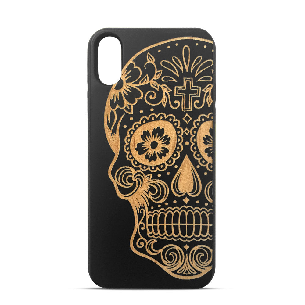 Funda iPhone X -Calavera
