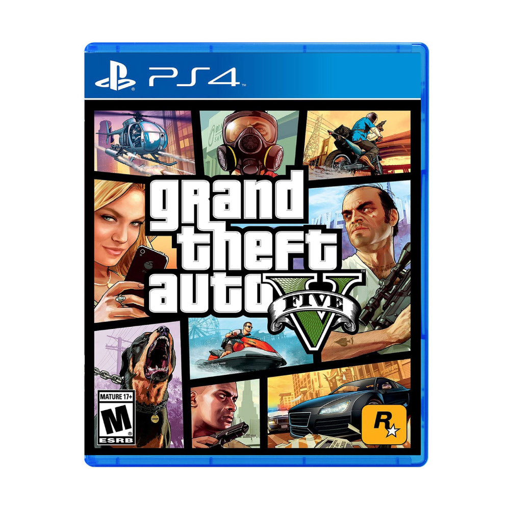 Grand Theft Auto V PS4 - Juego Físico