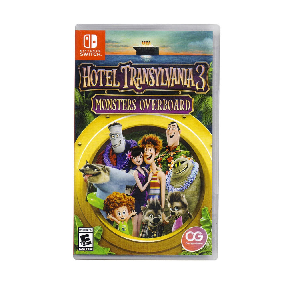 Videojuego Nintendo Switch Hotel Transylvania 3 Monsters Overboard