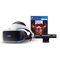Playstation VR + Juego Doom + Camara