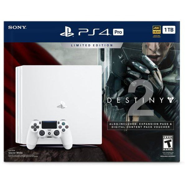 Playstation 4 Pro 1TB Edicion Limitada + Destiny - Blanco