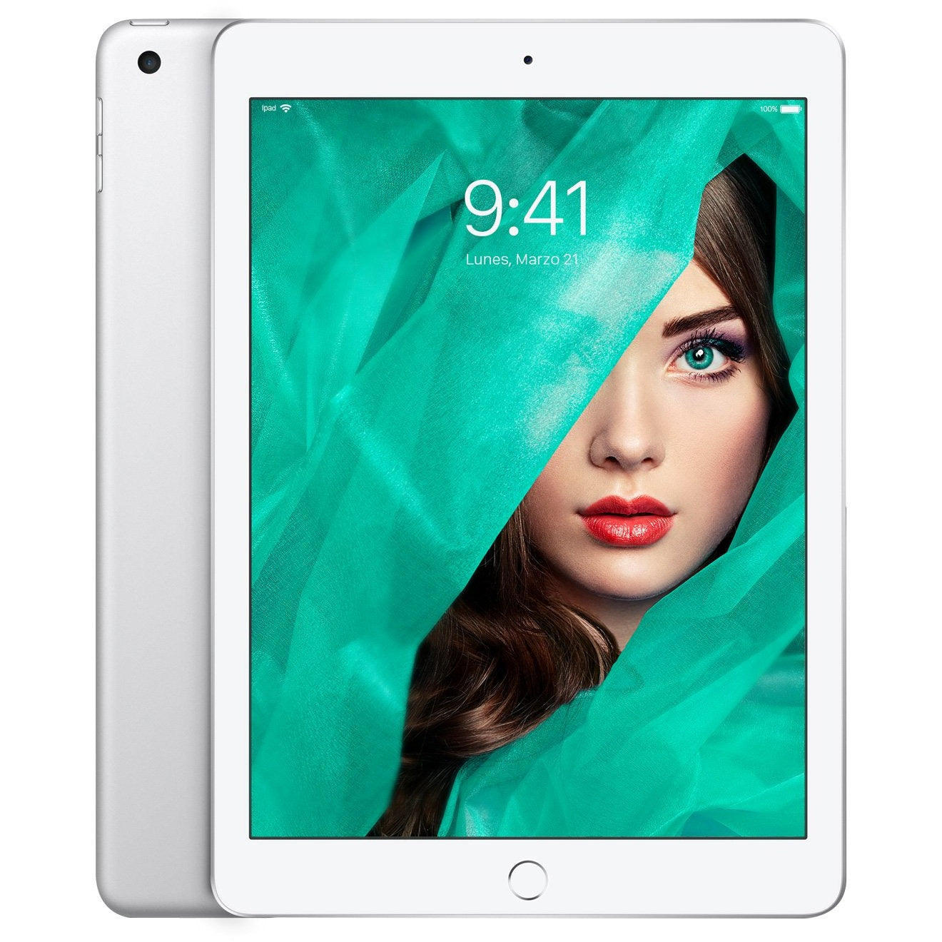 Apple iPad 128GB Wi-Fi - Plata