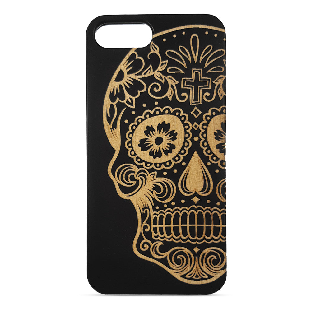 Funda iPhone 7+/8+ -Calavera