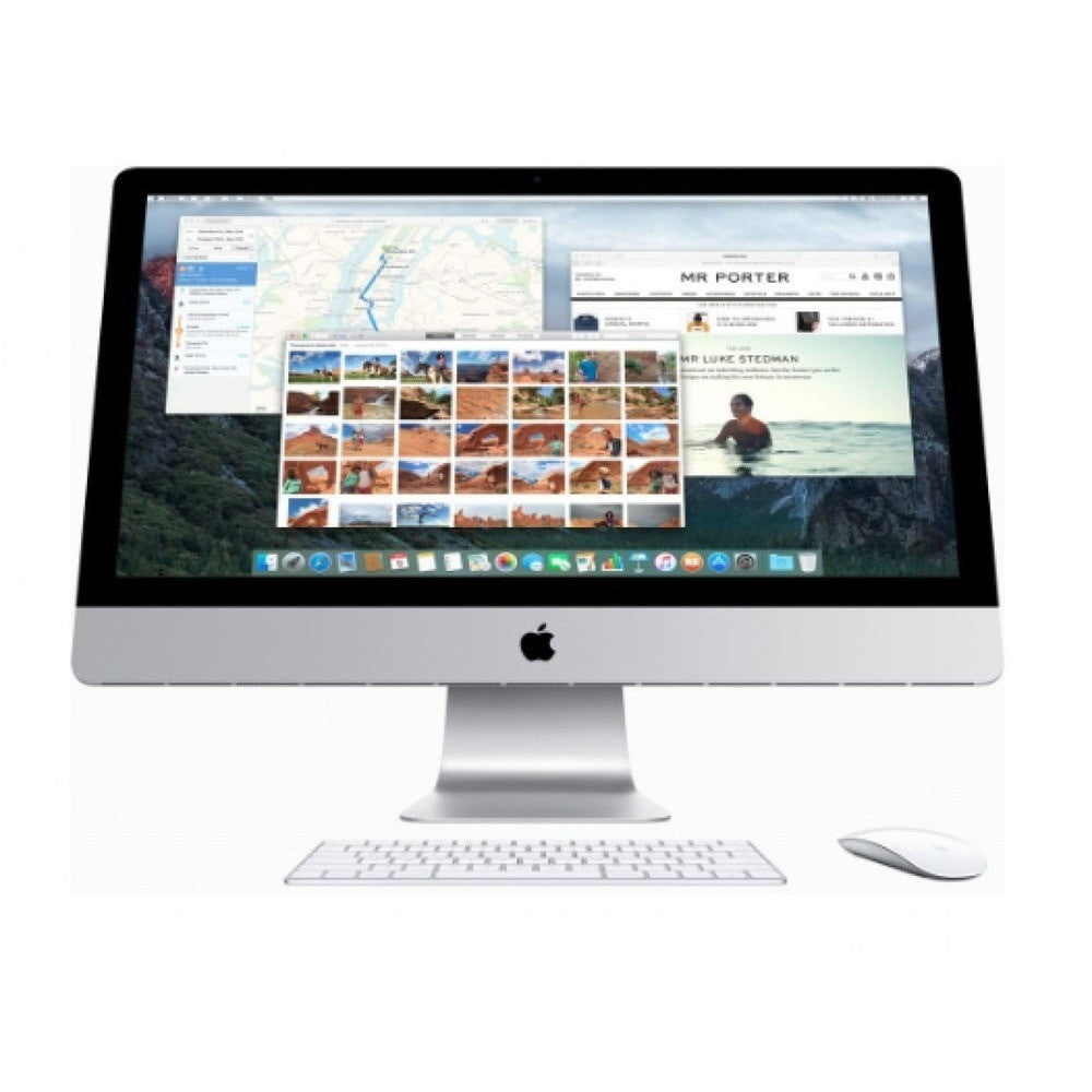 "Apple iMac 21.5"" MK142E/A Intel Core i5 2.7Ghz RAM 8GB DD 1TB - Plateado"