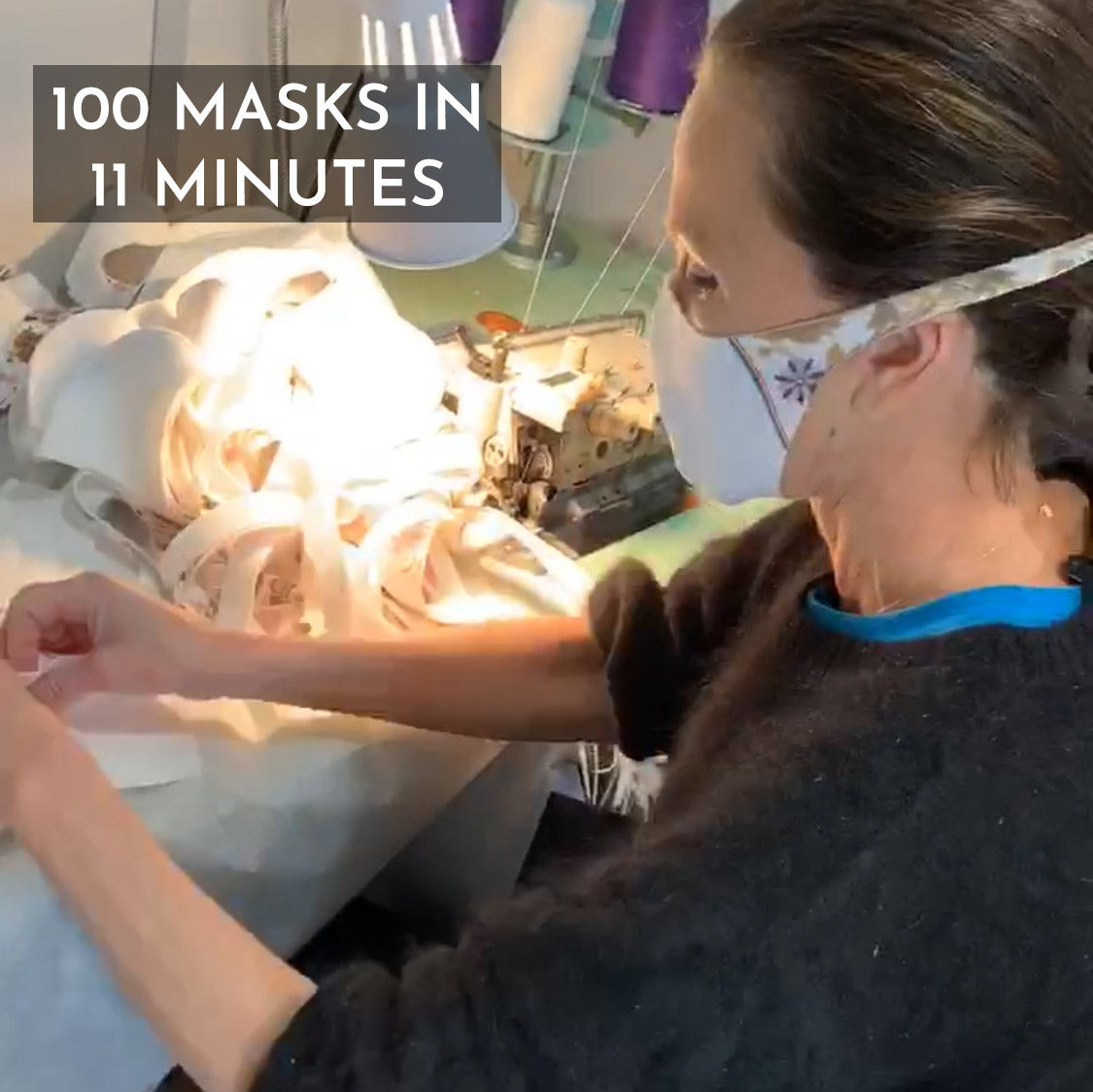 #Flattenthecurve with DIY Mask