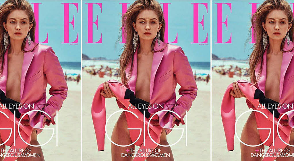 CR on the Cover of ELLE