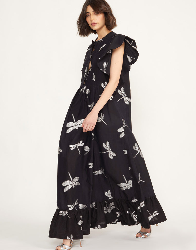 Nairobi Dragonfly Kaftan Dress