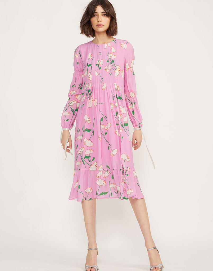 Kyoto Pintuck Dress