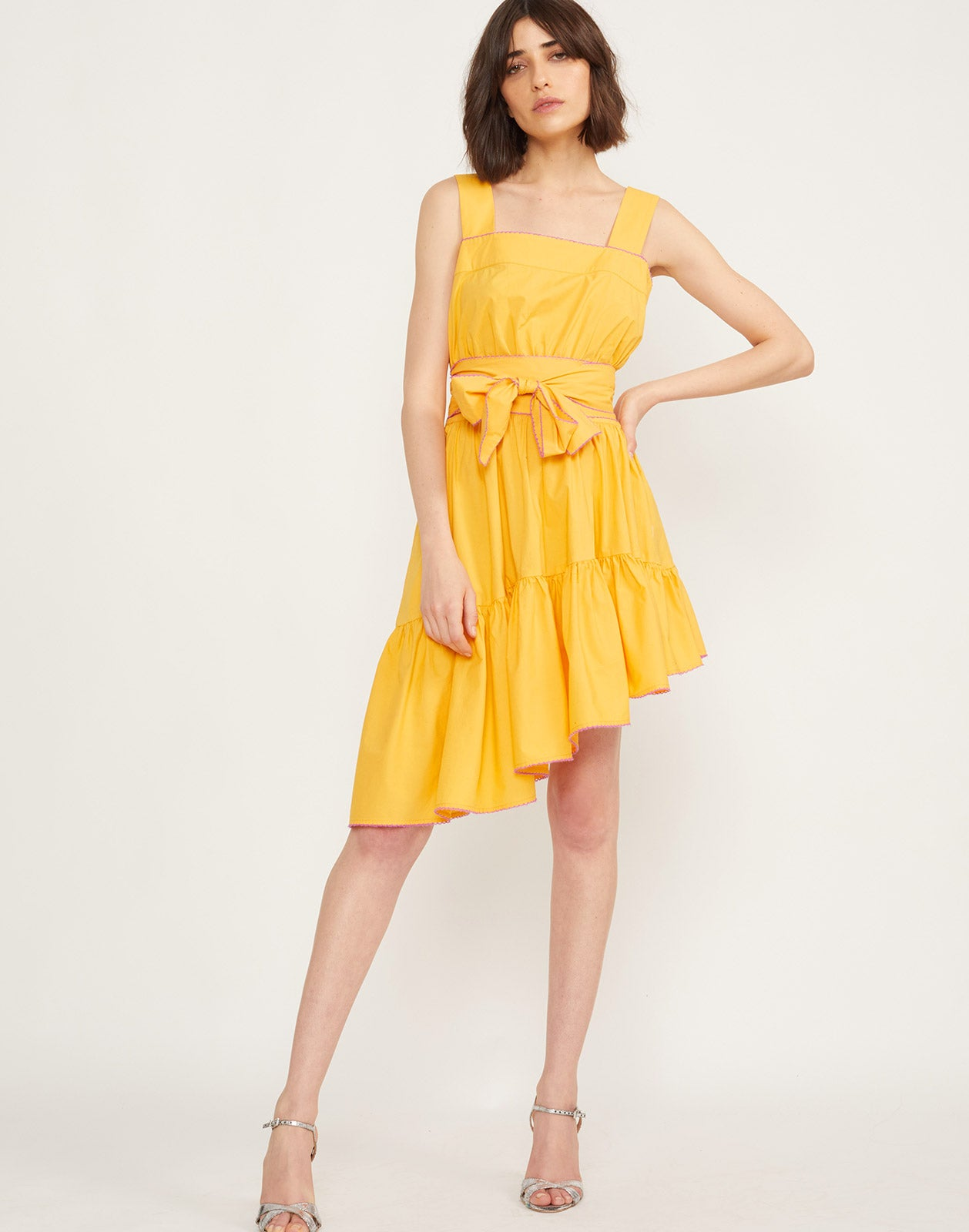 Full front view of the Dahlia Sundress