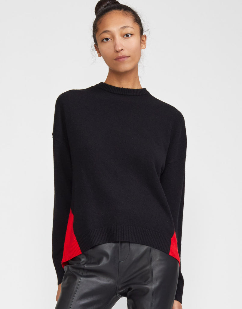 Willow Merino Cashmere Colorblock Sweater