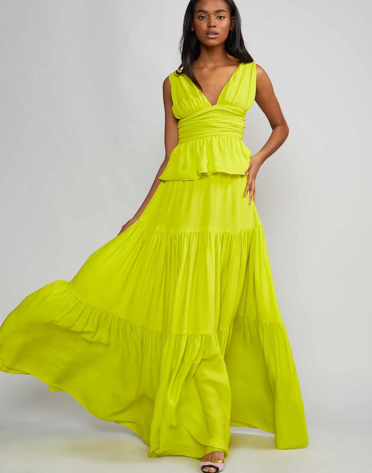 Zadie Tiered Maxi Dress