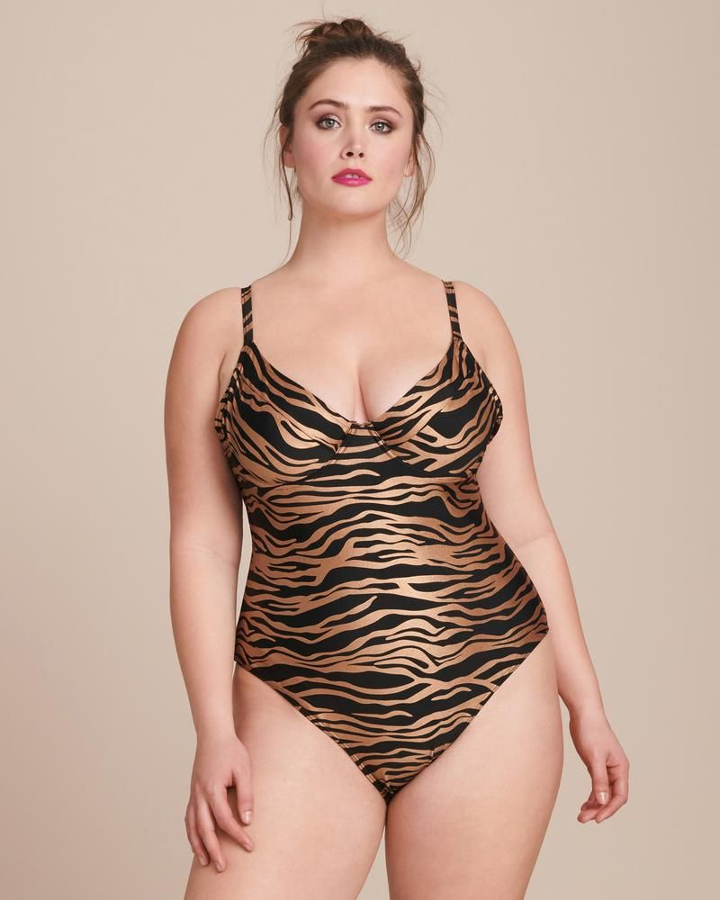 Zebra Sandi Swimsuit - Extended sizes available
