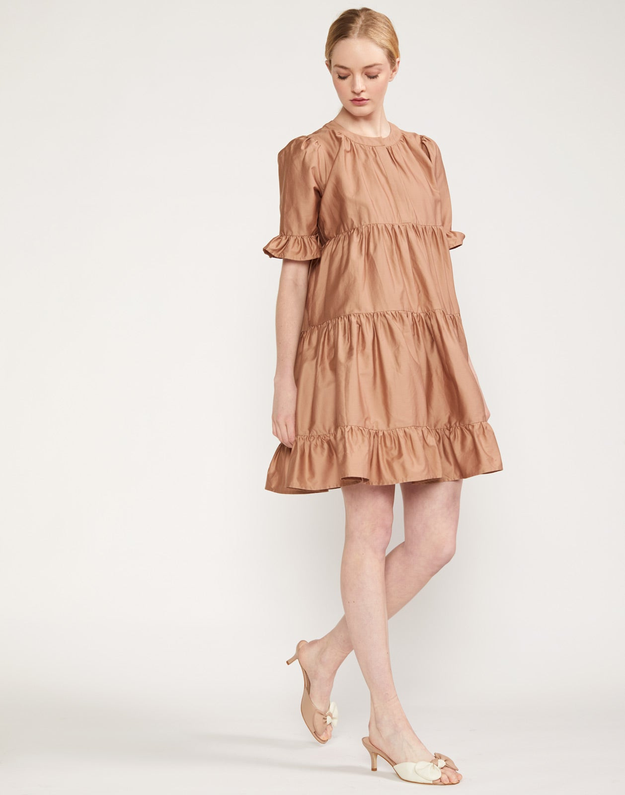 Penelope Tiered Short Dress