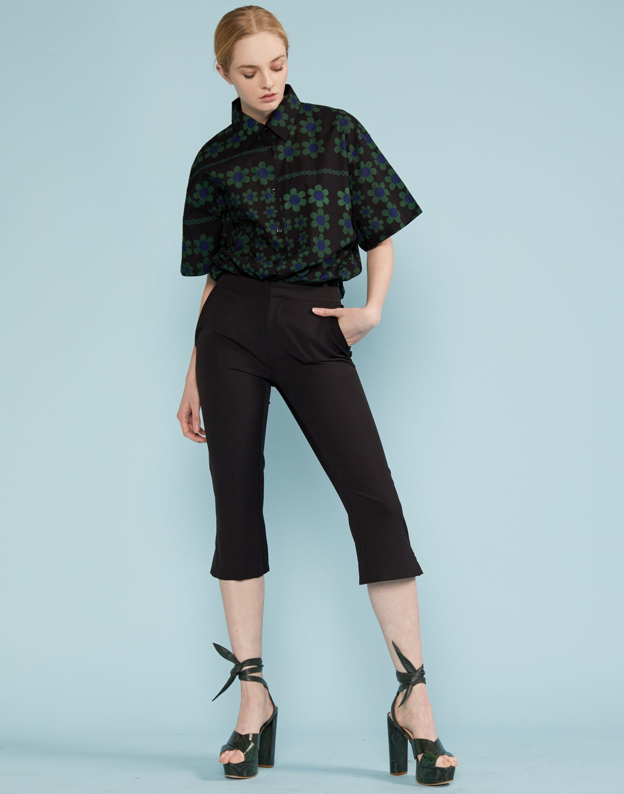 Drew Cropped Pant