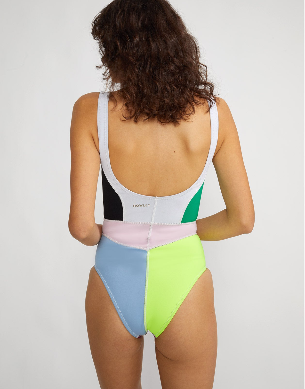 Kalleigh Colorblock Swimsuit