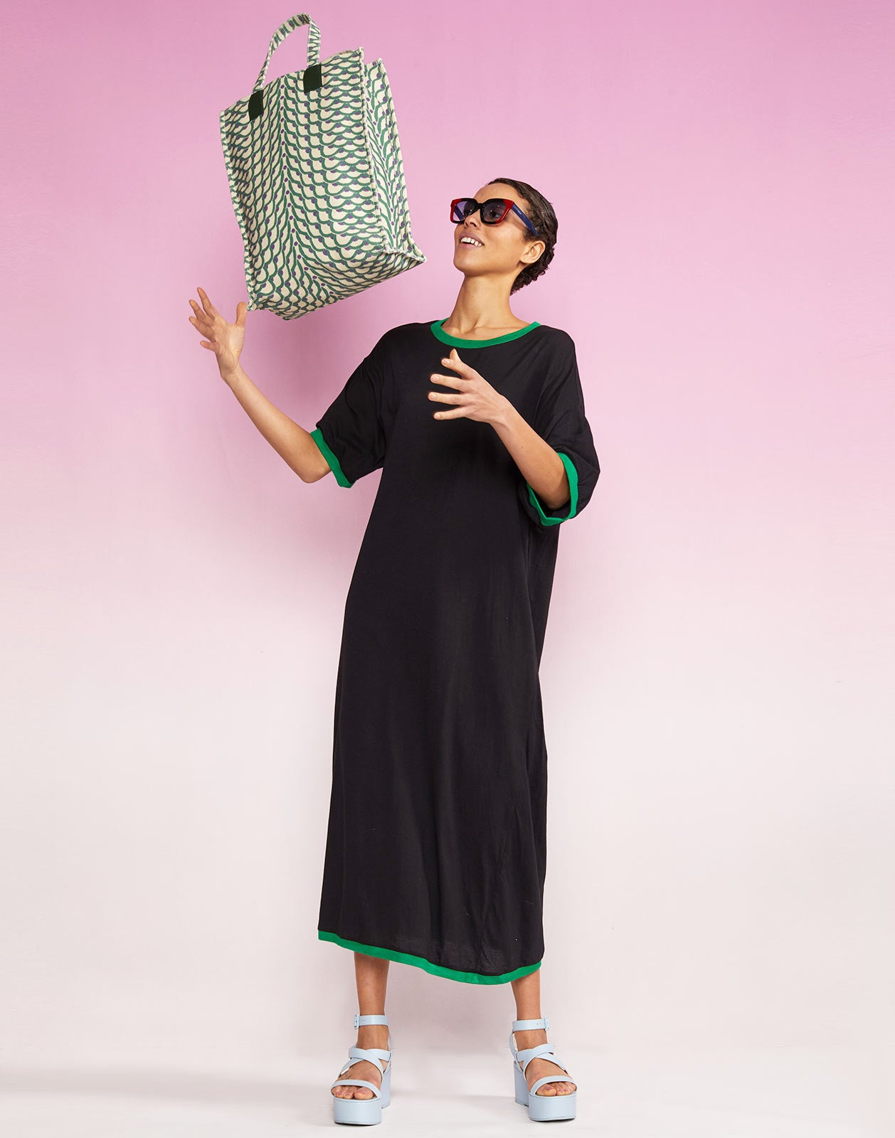 Alternate view of Rhyse Maxi T-Shirt Dress