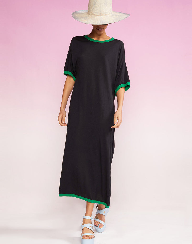 Soft cotton t-shirt dress