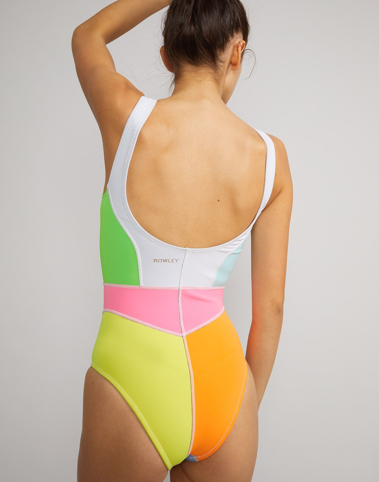 Kalleigh Colorblock Swimsuit - Extended sizes available