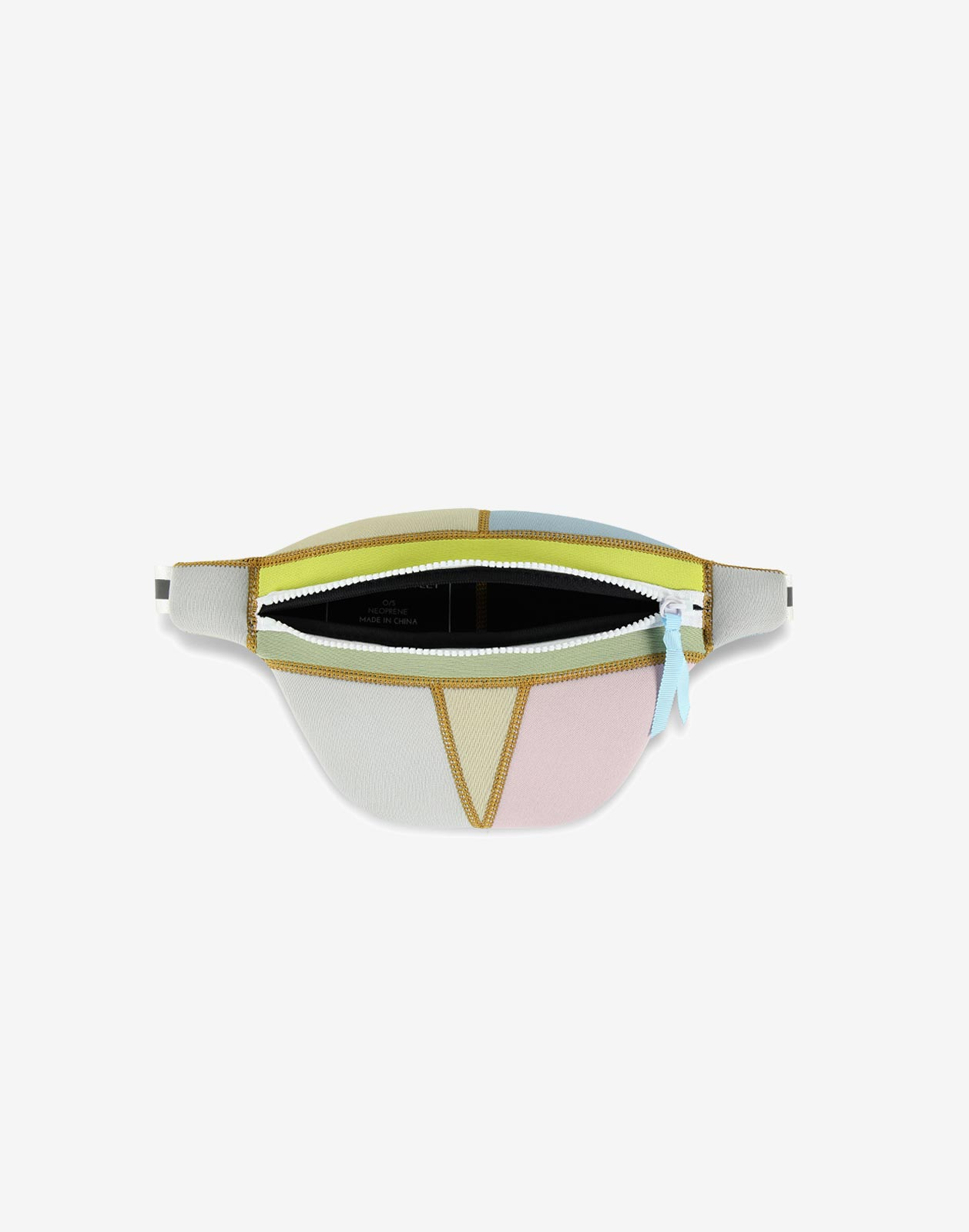 Neoprene Colorblock Fanny Pack