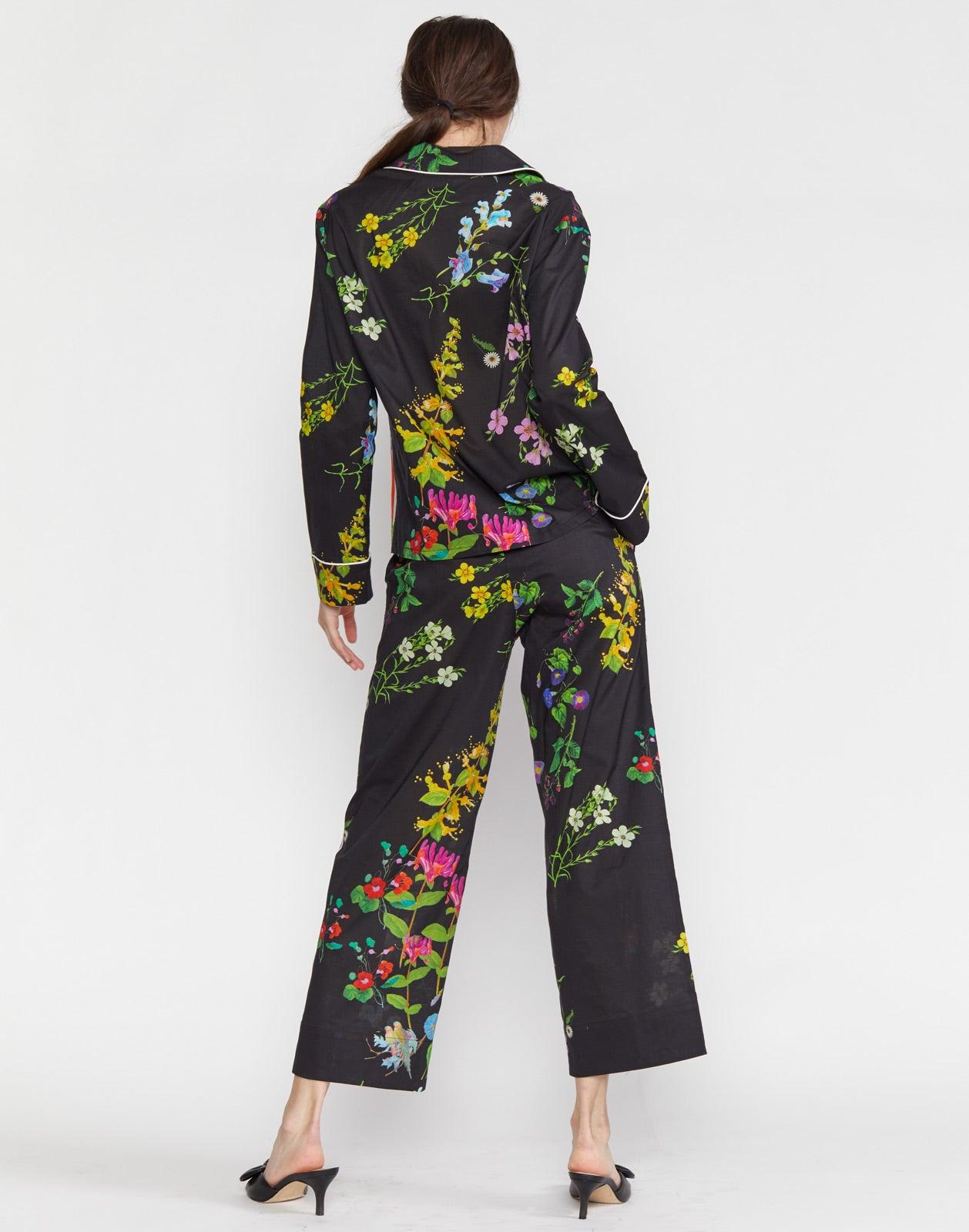Botanical Pajama Shirt