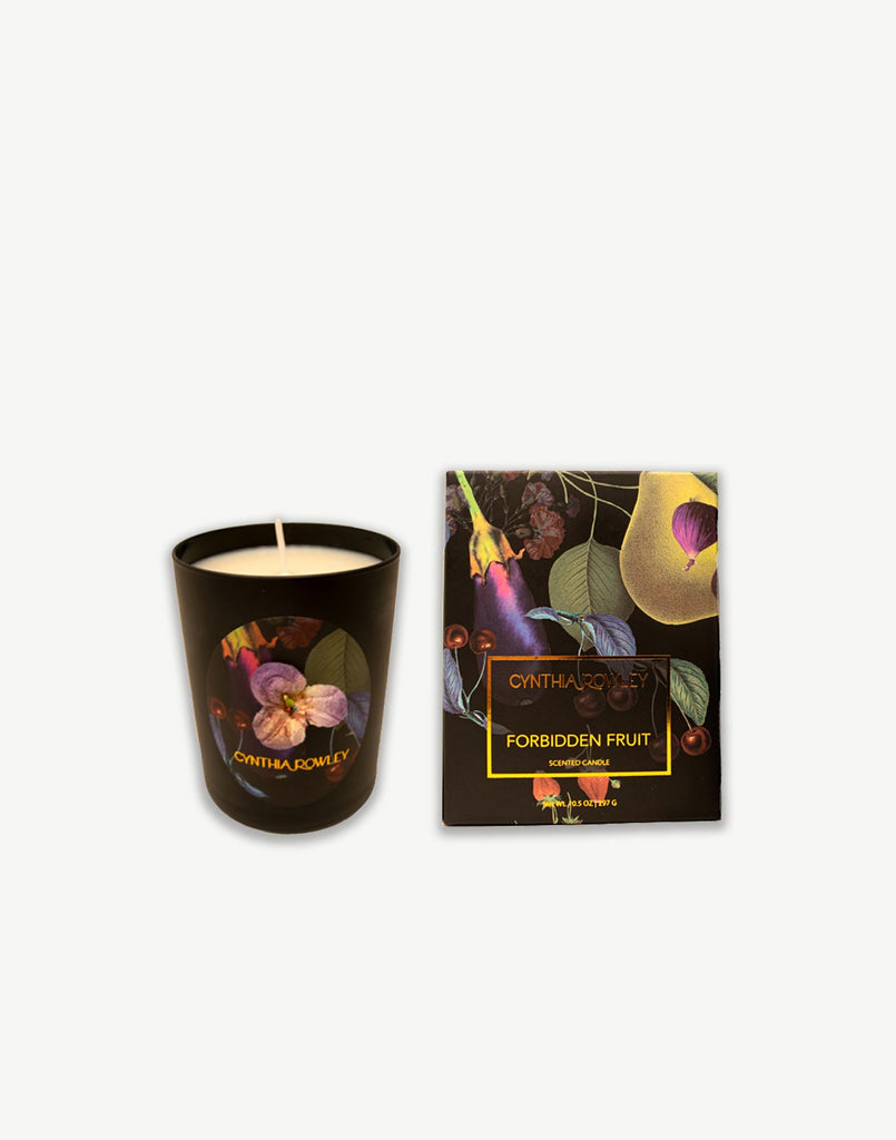 Forbidden fruit candle and printed box
