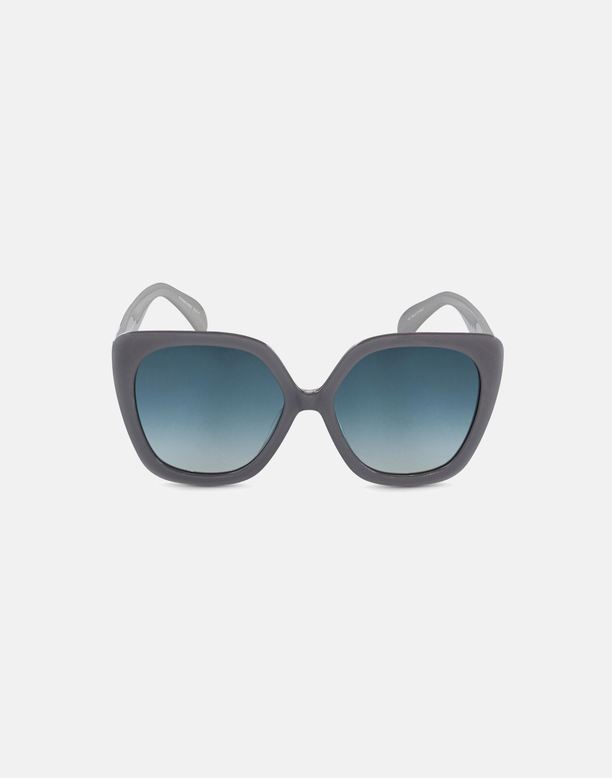 Dorado Gray Sunglasses front view