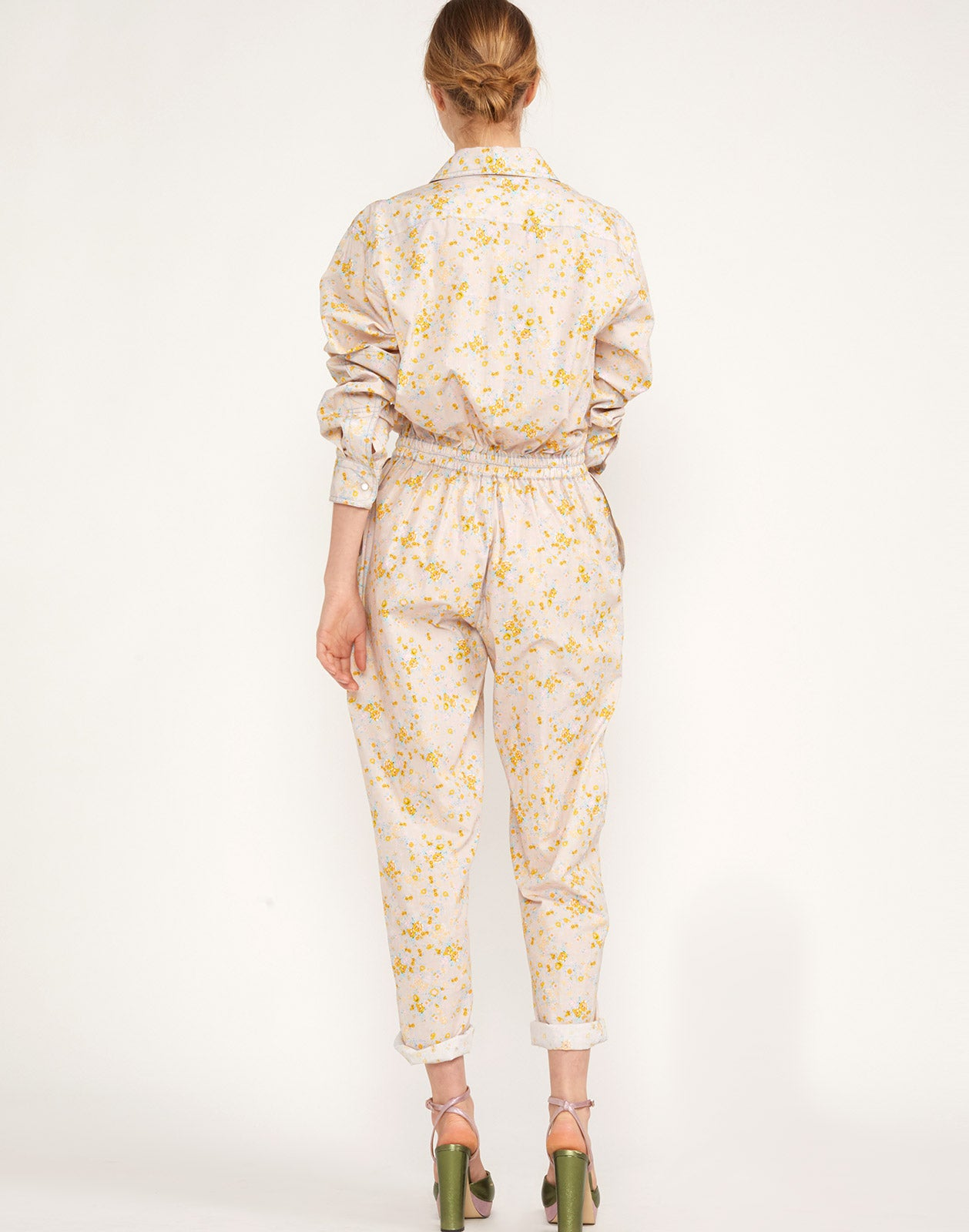 Back view of the Memphis Boyfriend Jumpsuit