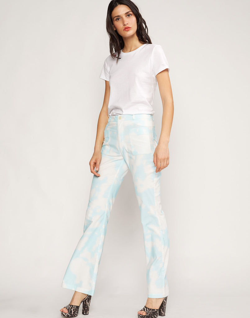 James Tie Dye Flare Pants