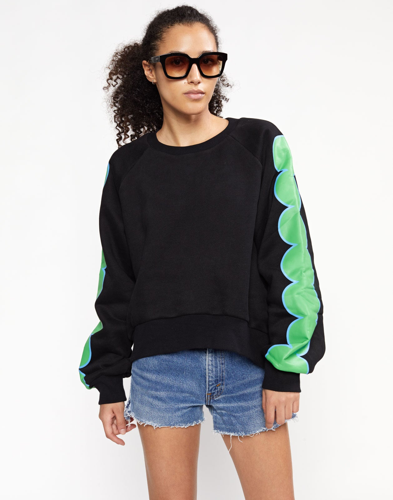 Sunday Printed Sweatshirt