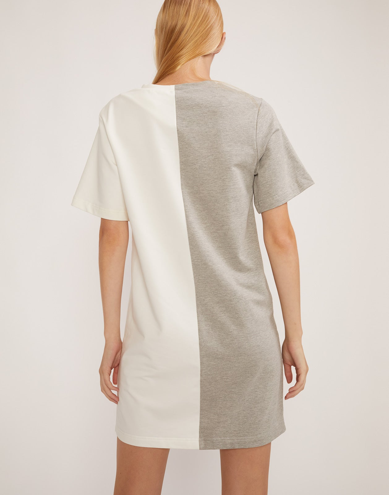 Back view of CaliYork t-shirt dress.