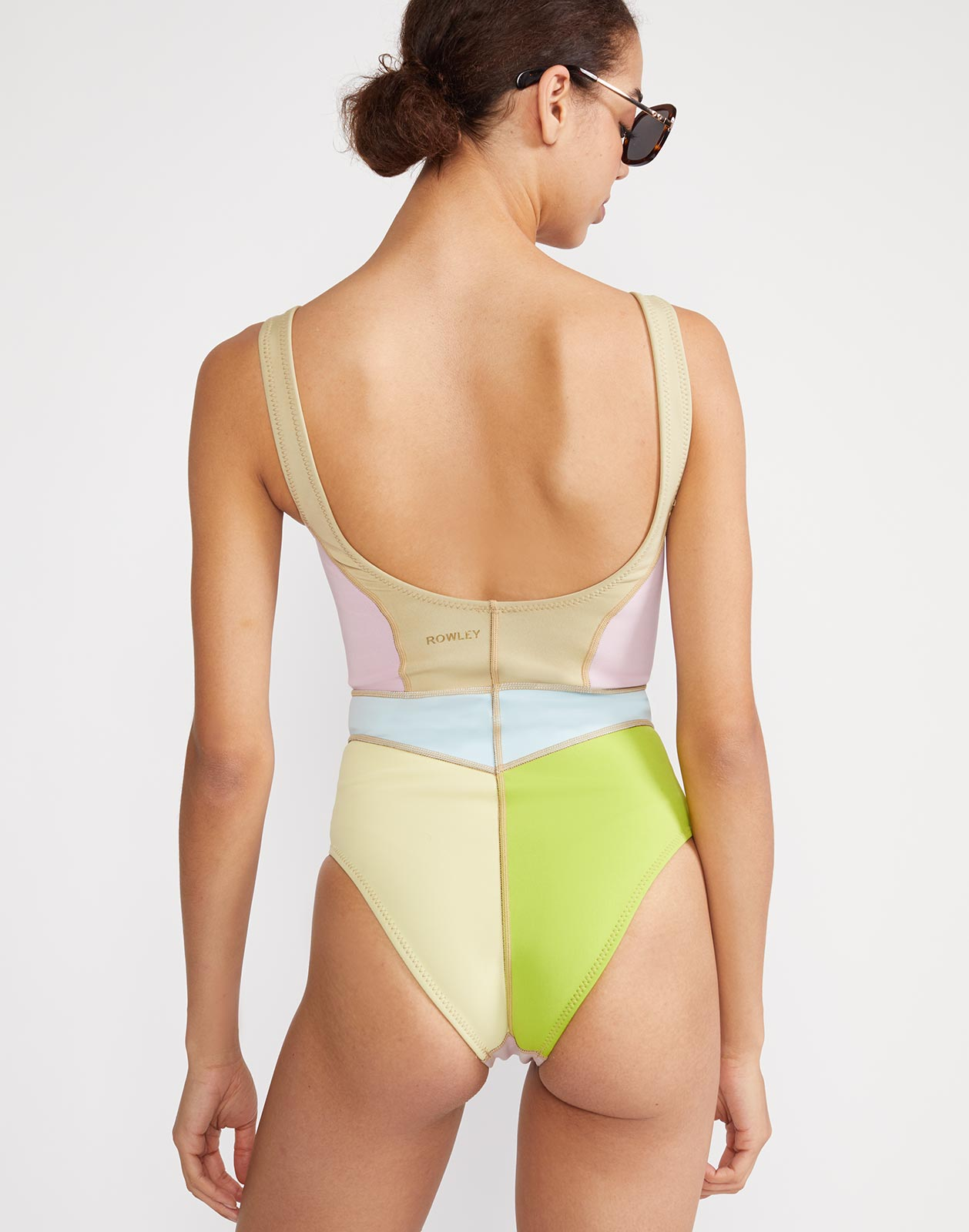 Kalleigh Colorblock One Piece