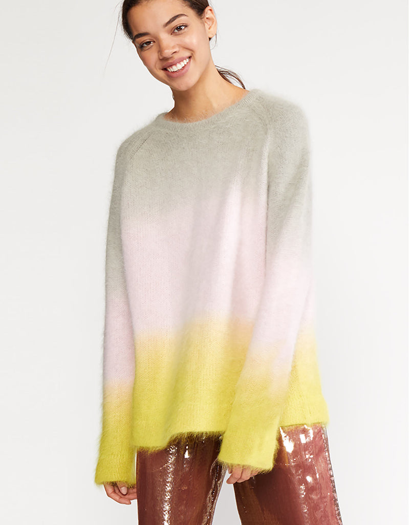 Taylor Ombre Angora Sweater