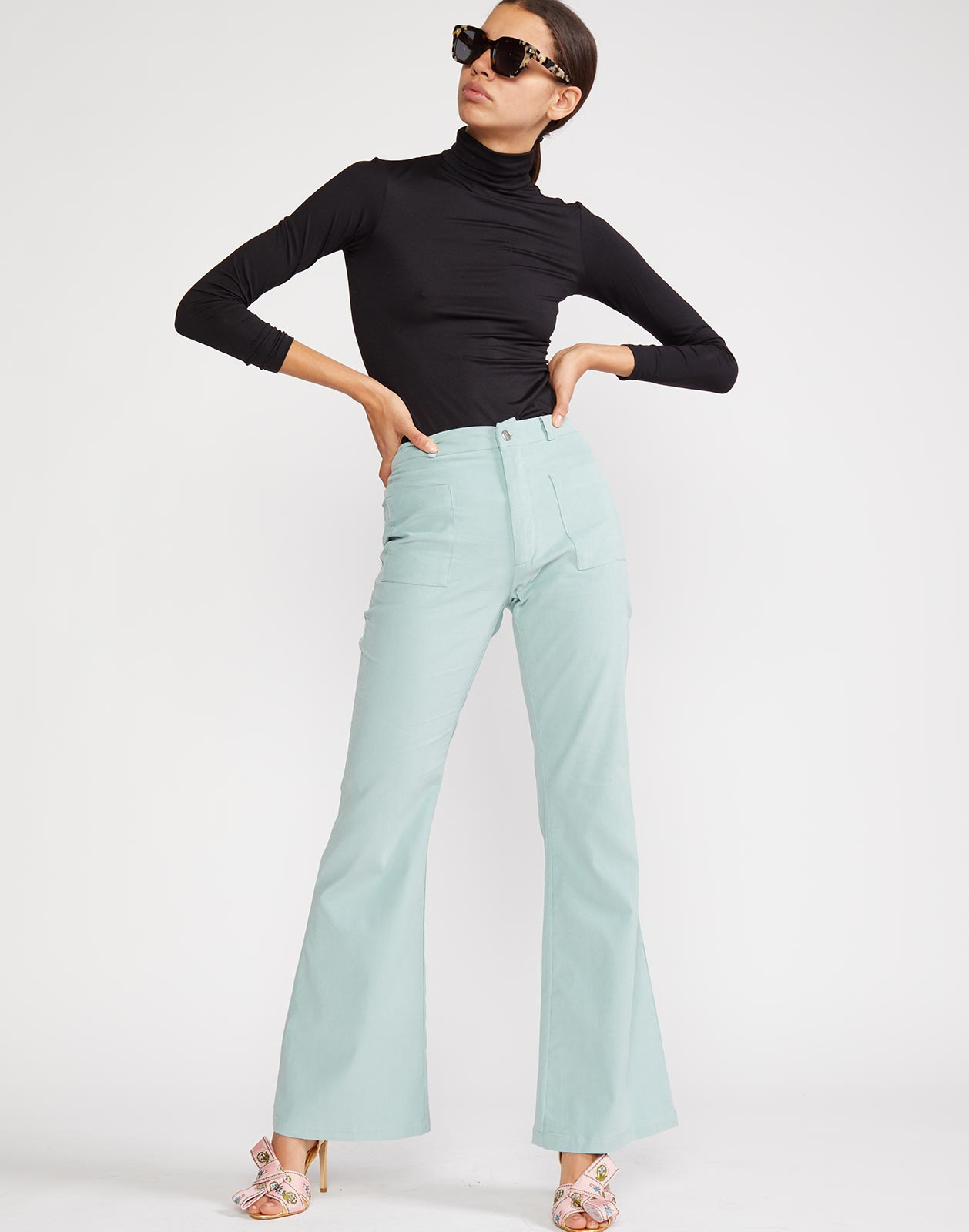 Alternate view of Blake Corduroy Pant in blue