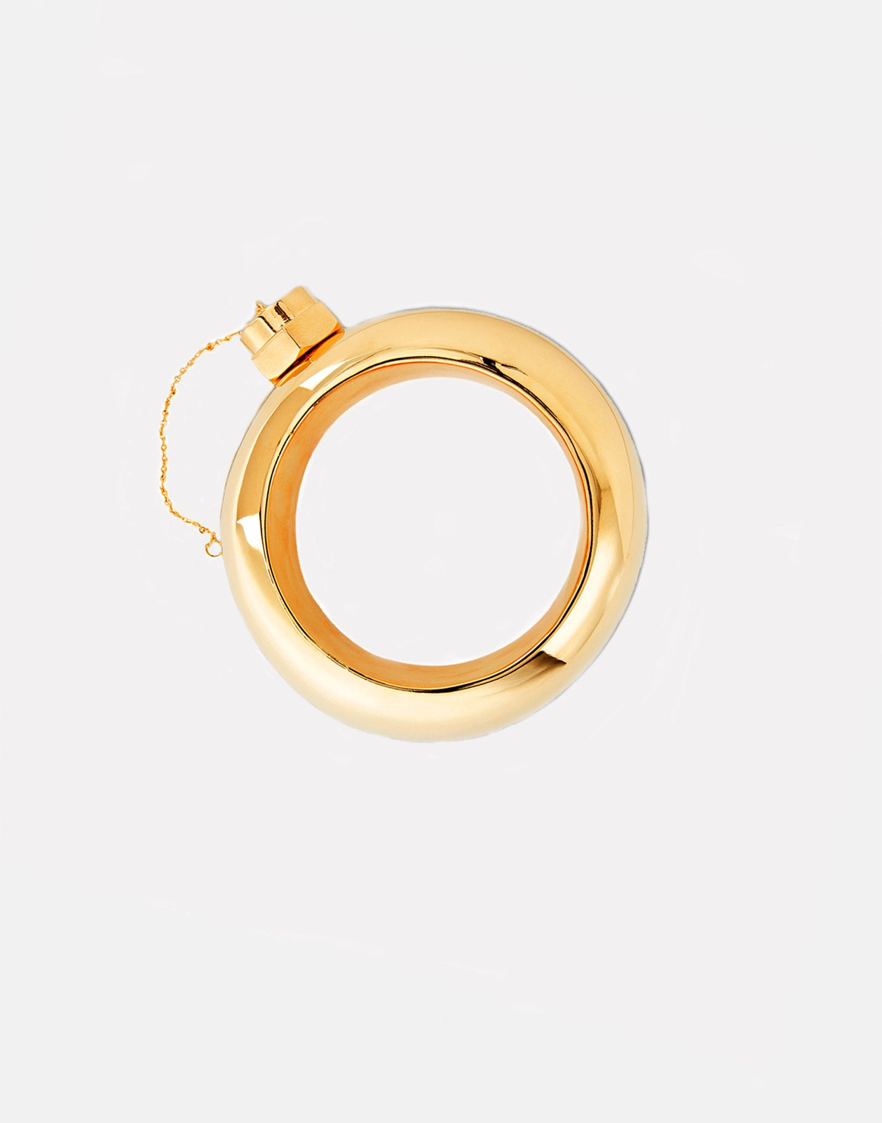 Gold Flask Bangle