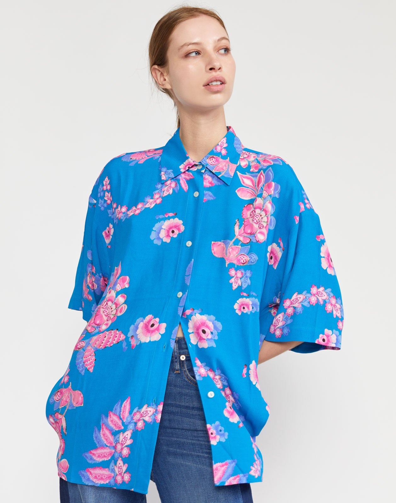 Cabana Printed Viscose Camp Shirt